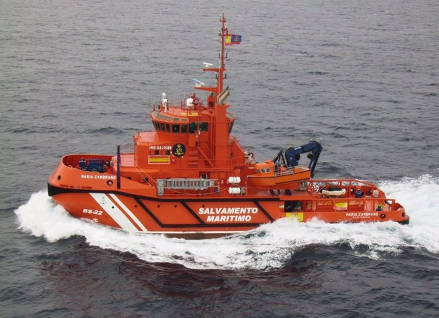 Buque María Zambrano de Salvamento Marítimo