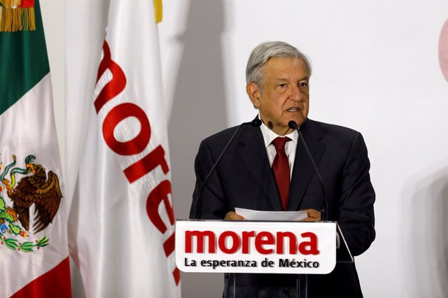 Andres Manuel Lopez Obrador, presidential pre-candidate of the National Regenera