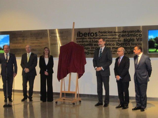 Felipe VI en la inauguración del Museo Íbero