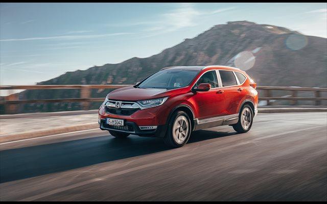 El nuevo Honda CR-V 1.5 VTEC Turbo de gasolina llegará a España en octubre