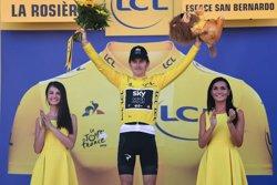 Geraint Thomas (Sky) venç a La Rosière i és nou líder del Tour ( ASO/PAULINE BALLET)