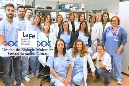 C.Valenciana.- Unidad de Biología Molecular de La Fe de Valencia es el laboratorio clínico con mayor número de estudios