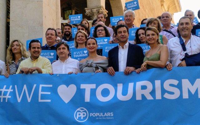 El PP de Baleares presentará una batería de mociones en todas las administraciones a favor del turismo