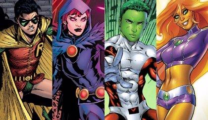 Titans: Vistazo en detalle a los trajes de Robin, Beast Boy, Raven y Starfire en la Comic Con