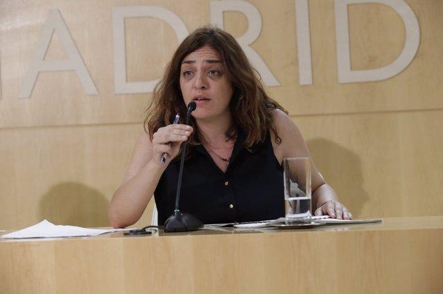 La delegada de Políticas de Género y Diversidad de Madrid, Celia Mayer