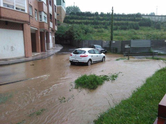 Inundaciones en Oviedo