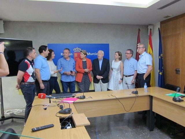 Arroyo presenta la nueva sección del Portal de la Transparencia