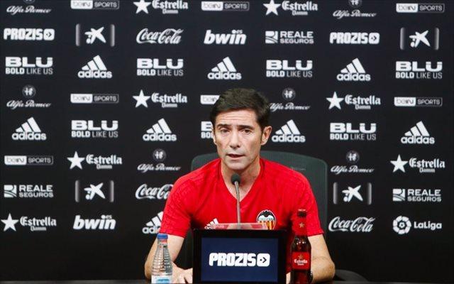 Marcelino: 'Tenemos el suelo en el cuarto puesto, crecer pasa por la Champions'