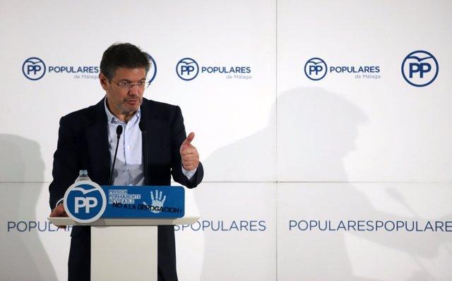Catalá dice que Rajoy 'no ha dicho nada' sobre la comida de exministros con Casado, que 'no es contra nadie'