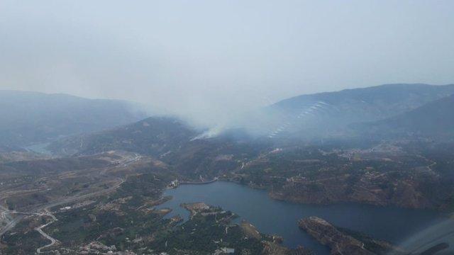 Declarado un incendio en El Pinar
