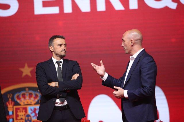 Presentación de Luis Enrique como nuevo seleccionador nacional