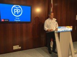 Alberto Fernández (PP) exigeix a Colau la retolació bilingüe de cartells i senyals de trànsit (EUROPA PRESS)