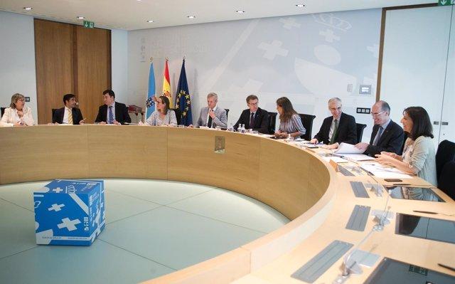Feijóo defiende las distinciones de este Día de Galicia y censura las críticas del BNG: 'son un exceso verbal'