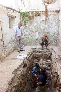 Trabajos arqueología tsunami estepona geoarqueológico