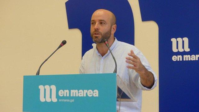 Luís Villares, este lunes