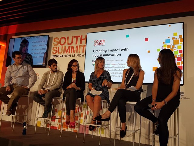Fundación SERES y Ship2B en el South Summit