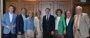 Casado almuerza con siete exministros de Rajoy afines a su candidatura la víspera del congreso del PP