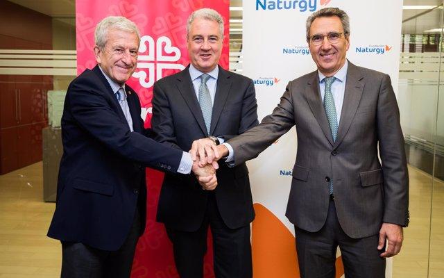 Fundación Naturgy y Cáritas se unen de nuevo tras atender a más de 7.000 personas en riesgo de vulnerabilidad energética