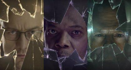Samuel L. Jackson, Bruce Willis y James McAvoy protagonizan los teasers de Glass antes del tráiler de la Comic Con