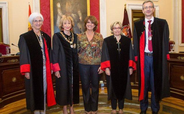 Segarra toma posesión como consejera nata del Consejo de Estado con el propósito de aportar la experiencia fiscal