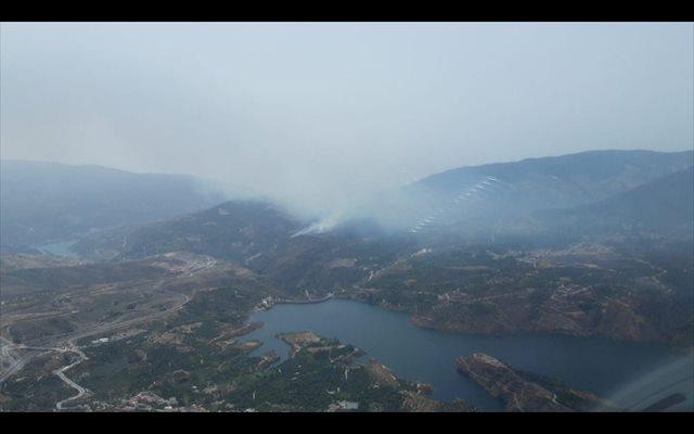 Controlado el incendio forestal declarado en un paraje de El Pinar (Granada)