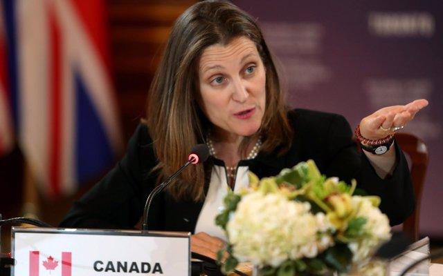La ministra de Exteriores de Canadá visitará México el 25 de julio