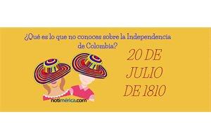 10 hechos de la Independencia de Colombia que debes conocer
