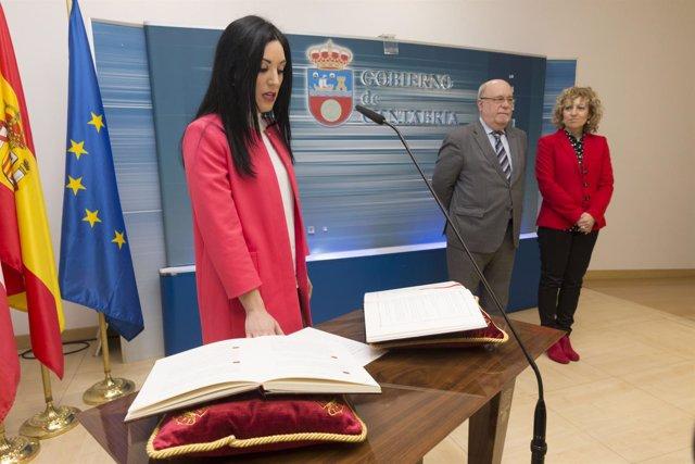 Monserrat García Ortiz, nueva directora general de Economía de Cantabria