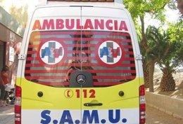 Una ambulància del SAMU en imatge d'arxiu