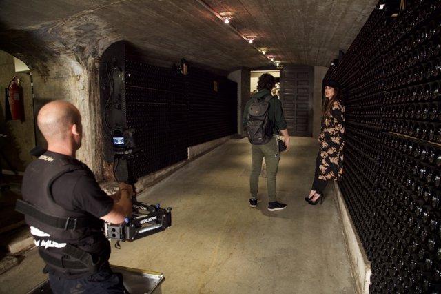 Rodaje Malú videoclip en La Rioja