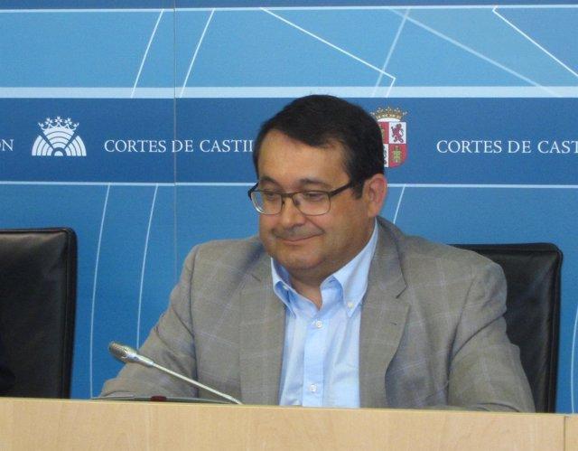 El procurador socialista Juan Luis Cepa