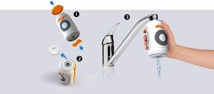 La empresa Dropson crea un filtro para fomentar el consumo de agua de grifo como alternativa al agua embotellada