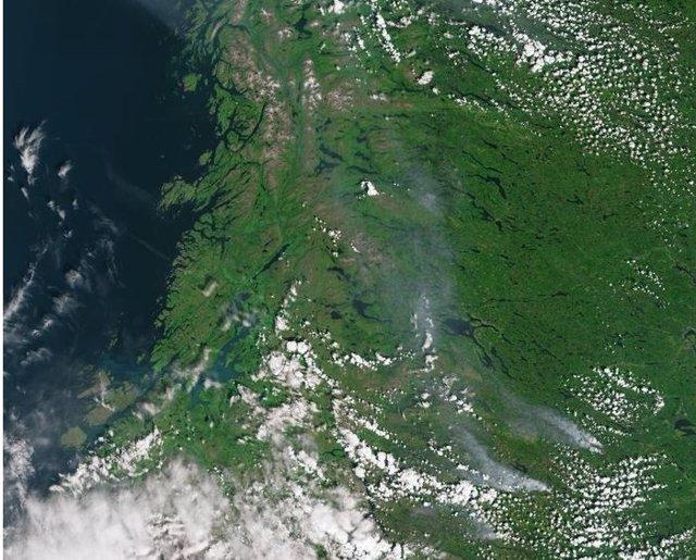 Incendios en Suecia