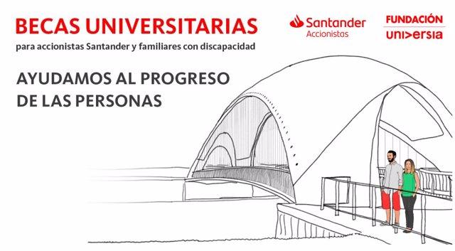Fundación Universia y Banco Santander promueven el progreso de los universitario