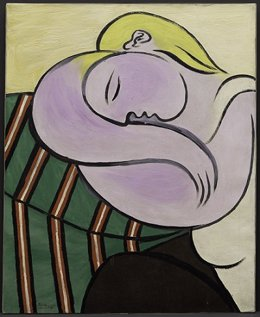 """Pablo Picassoren """"La mujer del pelo amarillo"""""""