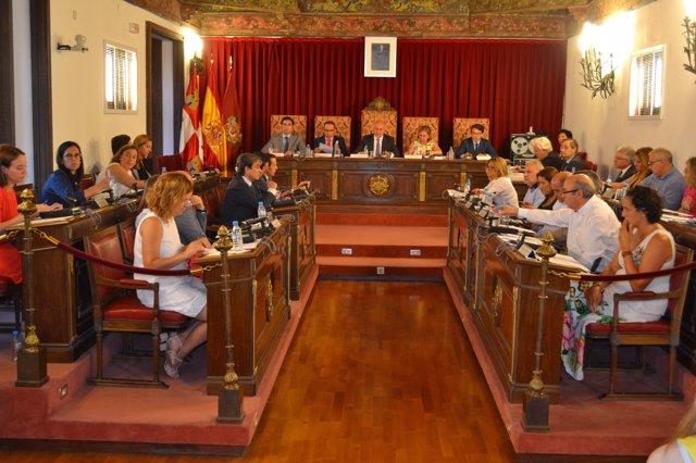 Valladolid.- Pleno Diputación
