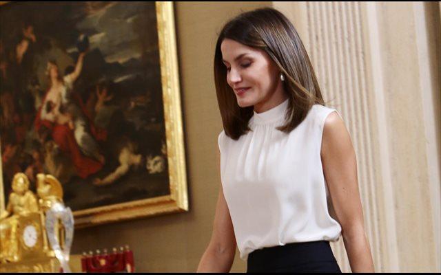 La Reina Letizia, la gran ausente en la cena en honor a Emmanuel Macron