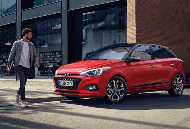 Nuevo i20 de Hyundai en su versión cinco puertas