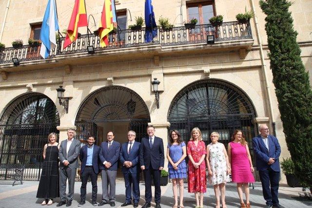 Els membres del Consell es reuneixen en Castalla