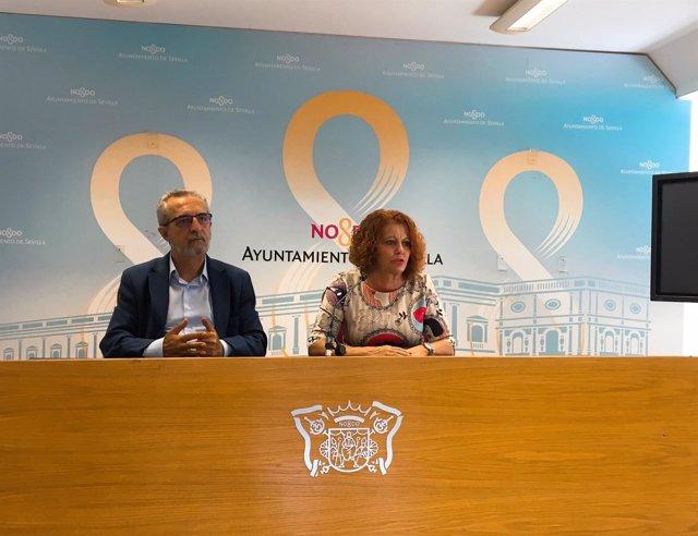 Sevilla impulsa 184 contratos con el pfoea para el for Mantenimiento de jardines