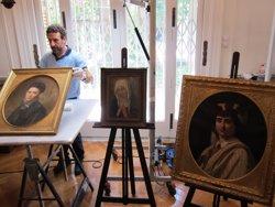 Barcelona recupera 12 pintures del llegat de Muñoz Ramonet, una d'elles trencada (EUROPA PRESS)
