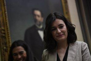 Carmen Montón donó su pelo en favor de las mujeres con cáncer y asegura que lo volverá a hacer (ÓSCAR DEL POZO/EUROPA PRESS)