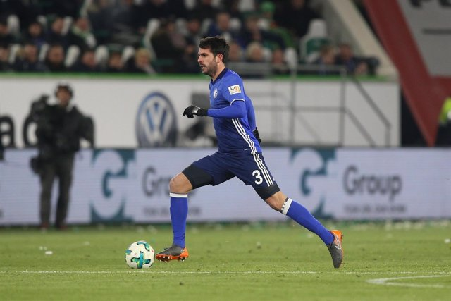 Pablo Insua con el Schalke 04
