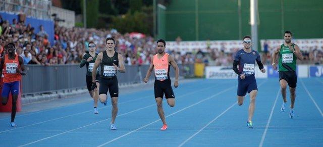 Bruno Hortelano, carrera de 400 en Madrid
