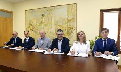 Bankia y Fundación Cajamurcia refuerzan su apoyo a la 'Cátedra de Empresa Familiar Mare Nostrum UM-UPCT'