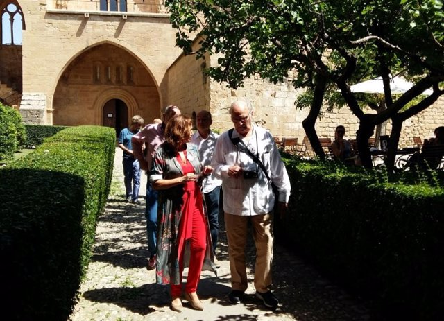 Carlos Saura en el Festival Internacional de cine Buñuel Calanda