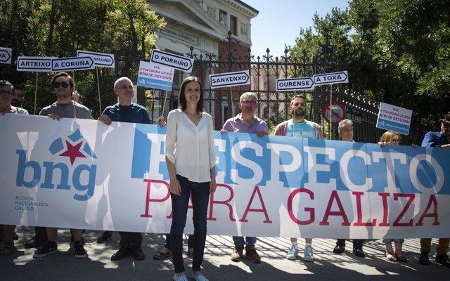 El BNG exige a la RAE una 'disculpa' por 'deturpar' los topónimos gallegos: 'Pedimos que cumpla la ley'