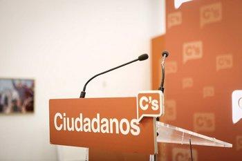 """Foto: Ciudadanos endurece sus críticas al Gobierno de Sánchez denunciando en una campaña sus """"hipotecas, mentiras y cacicadas"""""""