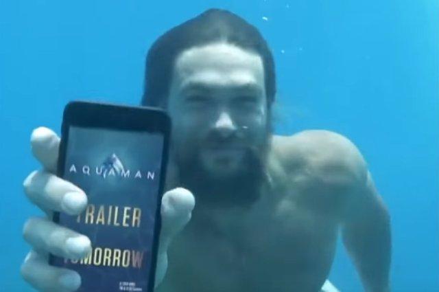 Jason Momoa Trailer Aquaman