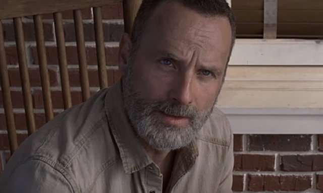 Rick en el tráiler de The Walking Dead